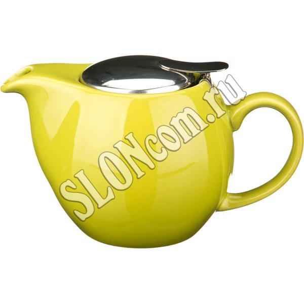 Чайник заварочный с металлической крышкой 500 мл