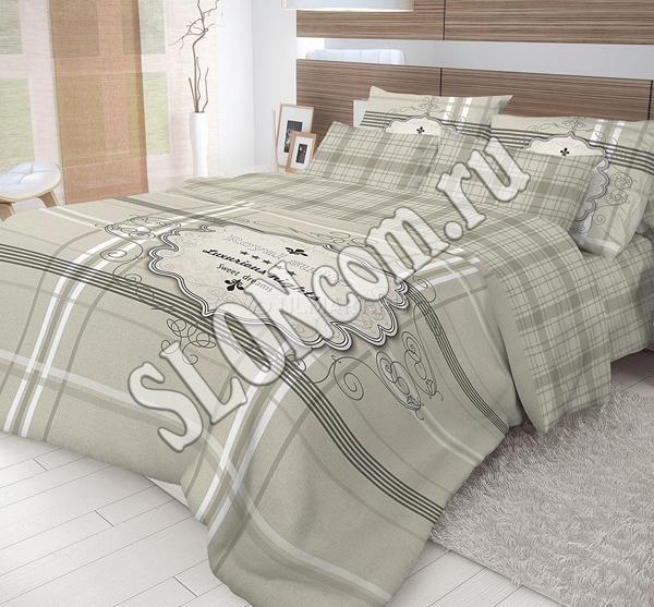 Комплект постельного белья Волшебная ночь евро с наволочками 50*70, ранфорс, Royal Suite